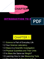 CHAPTER 1- Introduction to Science