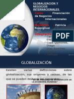 Globalización y Negocios Internacionales