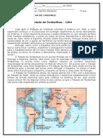 Texto Complementar Para o 7 Ano Tratado de Tordesilhas e Mercantilismo
