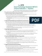 nets teachers standards