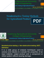 NDT of Agri Prod Quality
