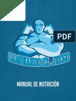 Manual Nutrición CEJ