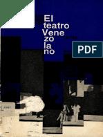 Azparren Giménez, Leonardo. El Teatro Venezolano