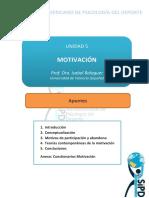 Apuntes 5 motivacion