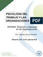Estudio de Las Organizaciones