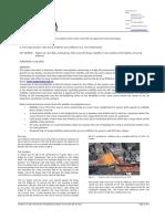 Technical Investigation Accident Twin Crane Lift