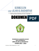 Kurikulum SMP AL Badar Dokumen 1