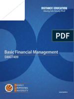 Dmgt409 Basic Financial Management