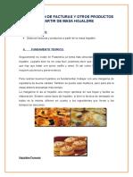Elaboracion de Facturas y Otros Productos a Partir de Masa Hojaldre