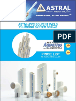 Astral Upvc Sch40 Pipes and Fittings Pricelist
