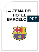 INFORME DE SISTEMA DE HOTEL