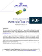 Passenger Ship Safety (14 December 2007)