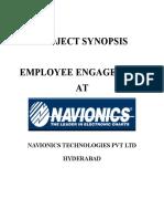 Synopsis Employee Engagement at Navionics