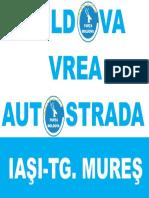 Moldova Vrea Autostrada_Sticker