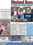 The Wayland News August 2016