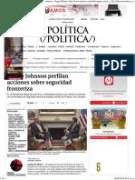 Peña y Johnson Perfilan Acciones Sobre Seguridad Fronteriza - Grupo Milenio