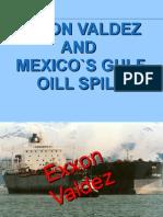 Exxon Valdez and Mexico's Gulf Oil Spill