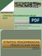 Strategi Pasar Desa