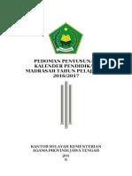Pedoman Umum- Kaldik Jateng 2016-2017