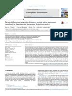 Factors Influencing Separation Distances Against Odour