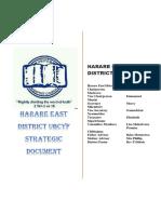 UBCYF Harare East Strategic Document