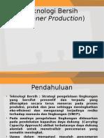Teknologi Bersih Gasal 2012 2013