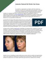 Lipofilling Y El Incremento Natural De Pecho Con Grasa Autóloga