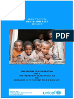 UNICEF, Plan d'Action Programme pays 2015-2019, Antananarivo