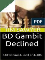 BD Gambit Declined - Tim Sawyer (2015)