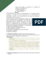 Preguntas RSE - Dimension Social (Laboral)