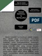 Teknik Material Dan Metalurgi ITS