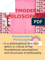 Postmodern Philosophy