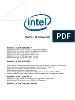 IMC FlashTool E2 - ReleaseNote