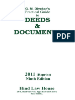 Deed Contents 2011