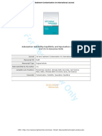 Adsorption Solubility Manuscript