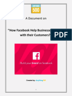 How Facebook Help Businesses Connect with their Customers?