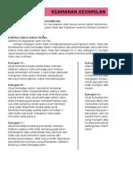 indeks keamanan obat