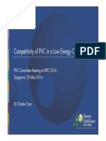 Presenter 2 Competitive of PVC in a Low Energy Cost World Charles Fryer Tecnon Orbichem
