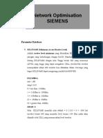 Parameter Database Description for KPI_Optimasi