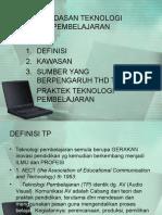 Landasan Teknologi Pembelajaran 1