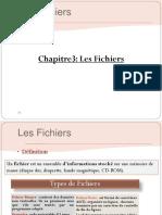 Chapitre 3 Langage C Fichiers