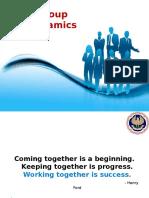 3. Group Dynamics