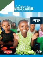 UNICEF, L'enfance à Madagascar