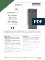 Especificaciones Técnicas GMP150