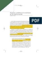 19 Siede - Preguntas y Problemas en La Enseñanza de Las Ciencias Sociales (2010)