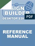 Sign Builder Reference