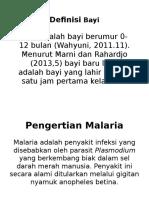 askeb bayi malaria