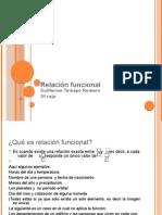 Relación funcional