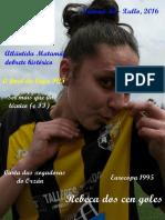 Revista FutbolFemenino. Xullo 2016