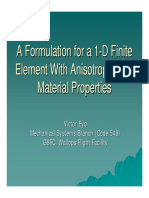 1D Finite Element